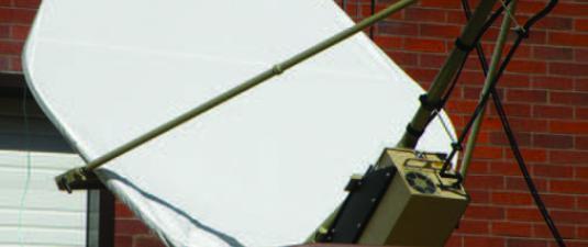Walton De-Ice Snow Shield - VSAT cover